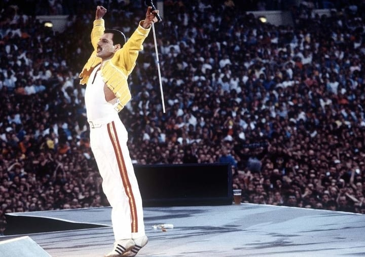 The king of Queen: Freddie Mercury's inspiring, tragic life