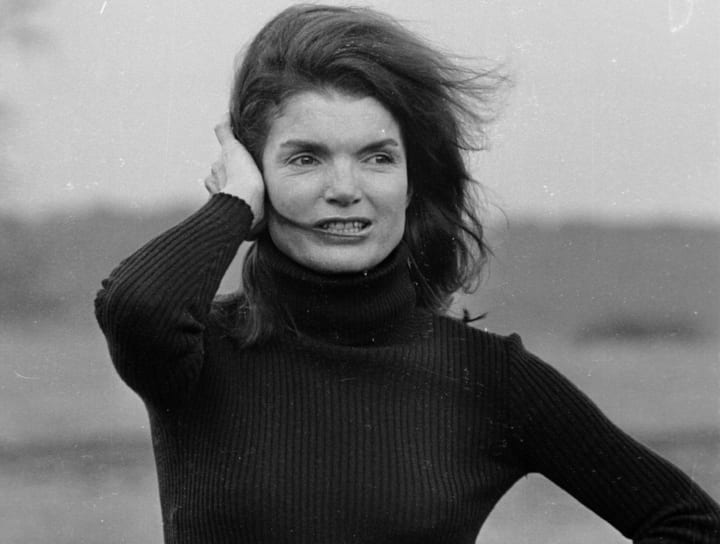 Vintage photos of Jackie Kennedy Onassis