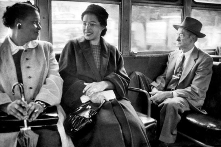 December 1st, 1955: Rosa Parks arrested for refusing to give up seat on bus