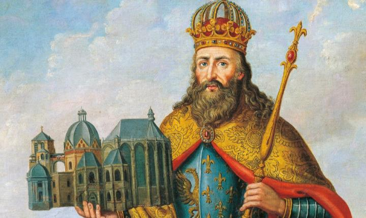 December 25, 800 CE: Charlemagne crowned Holy Roman Emperor