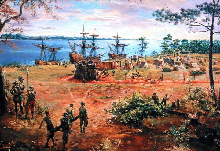 December 20, 1606: Three ships set sail for Jamestown, Virginia to establish a permanent colony