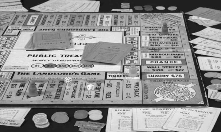 "The Great Depression helped invent ""Monopoly"""