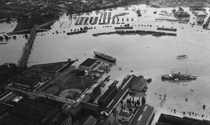 During World War II D.C. experiences worst flood ever