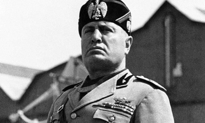 Mussolini punished subversives by forcing them to drink castor oil