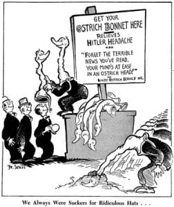 WWII, Dr. Seuss, Charles Lindbergh