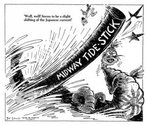 WWII, Dr. Seuss, Battle of Midway