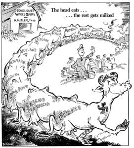 WWII, Dr. Seuss, isolationism, Adolf Hitler