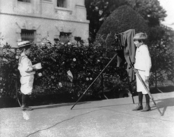 camera obscura, archie and quentin roosevelt, quentin roosevelt, archie roosevelt, victorian children