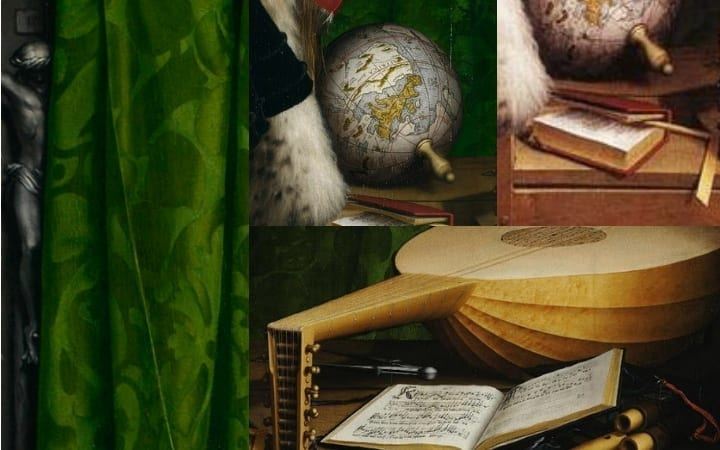 hans holbein the younger secret images the ambassadors