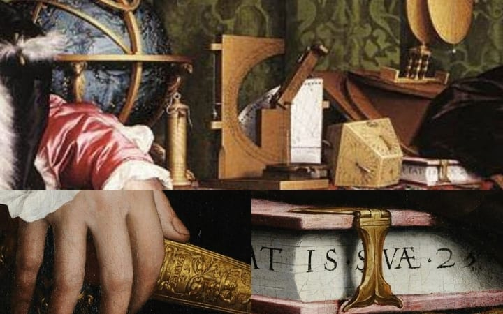 hans holbein the younger the ambassdors easter eggs