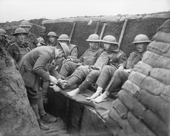How soldiers in the trenches of WWI really lived