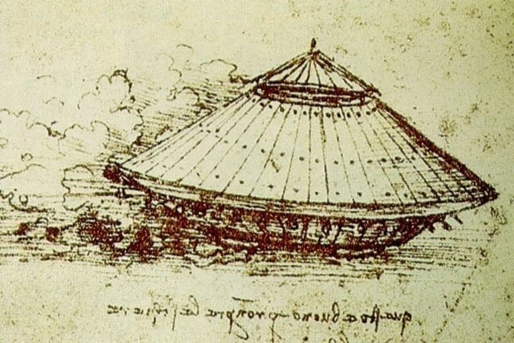 leonardo da vinci sketch tank military weapon