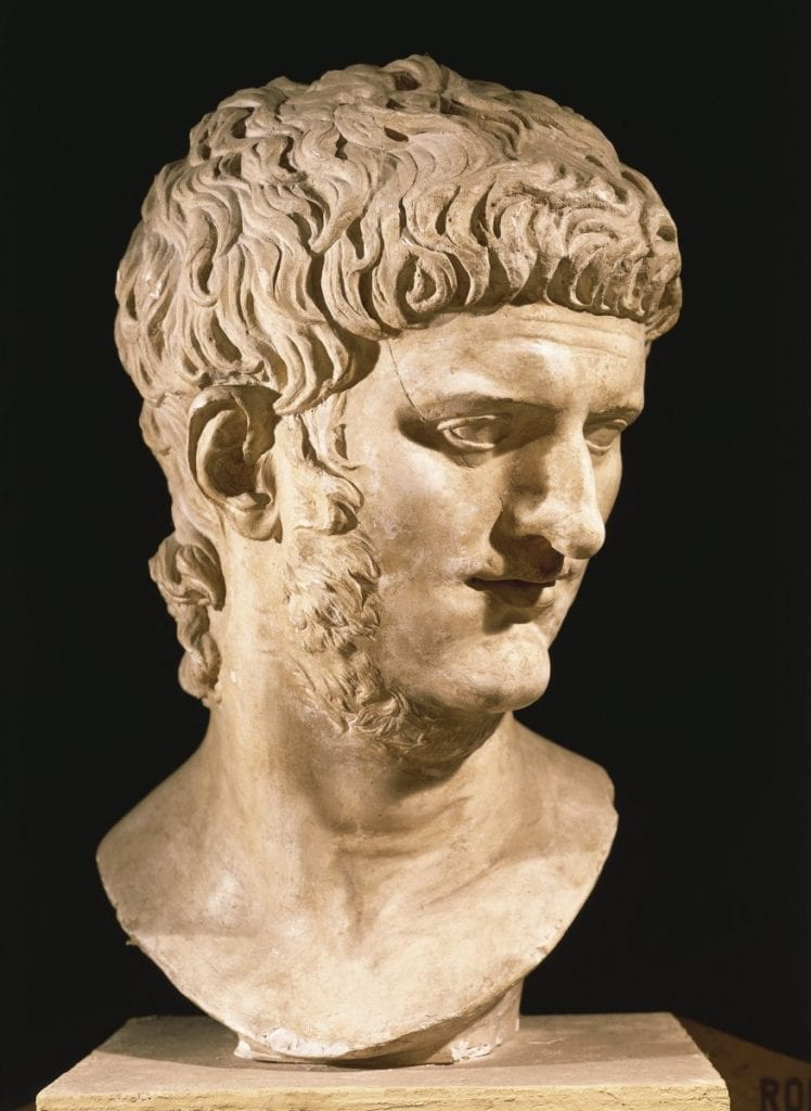 nero, facial hair, ugly beards, busts, ancient rome, emperor of rome
