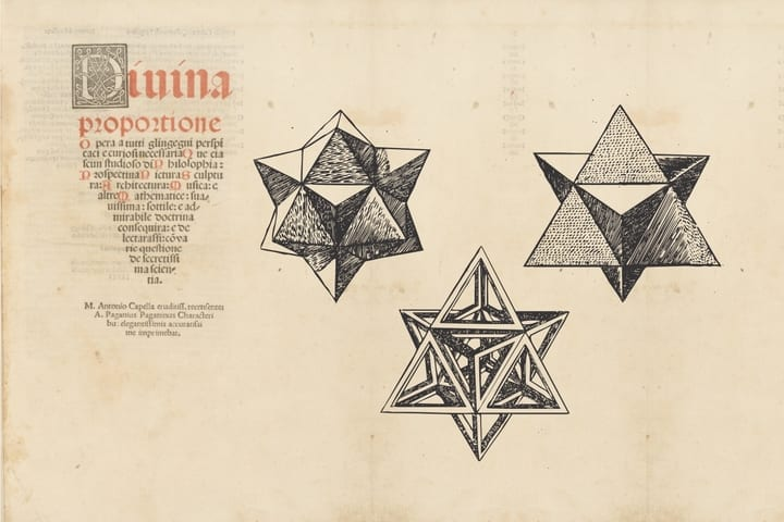 on divine proportion sacred geometry leonardo da vinci