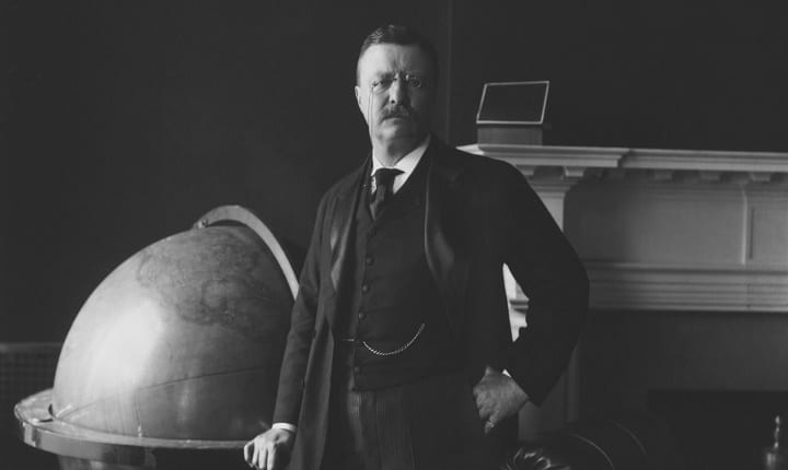 December 10th, 1906: Teddy Roosevelt becomes first American to Claim Nobel Prize