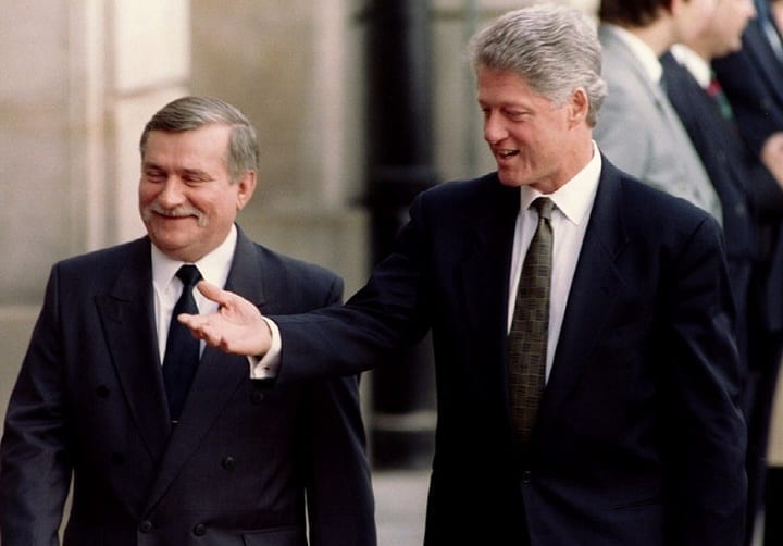 December 22nd, 1990: Lech Walesa becomes president of Poland
