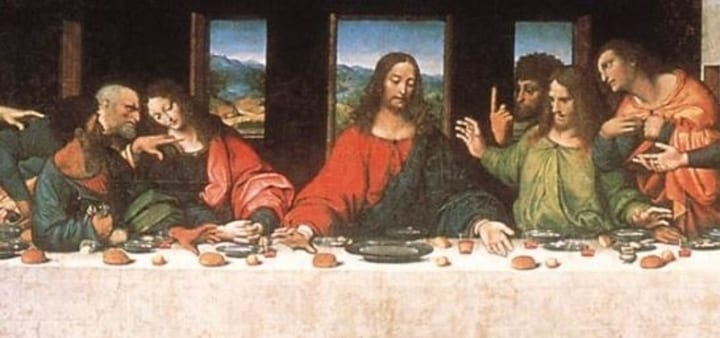 Secret images and hidden meanings in history's most famous ... Da Vinci Paintings Secrets