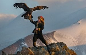 Burkitshi, eagle hunter, Golden Eagle Festival, Aisholpan Nurgaiv, The Eagle Huntress