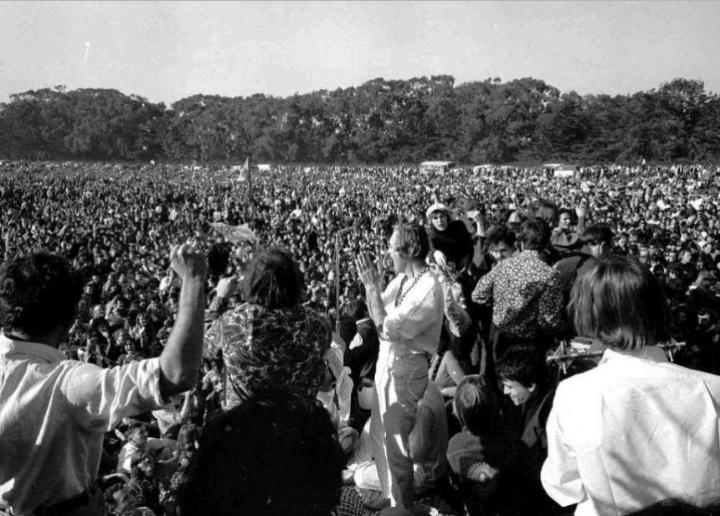 "January 14, 1967: The Human Be-In kicks off in San Francisco, marking the beginning of the ""Summer of Love"""