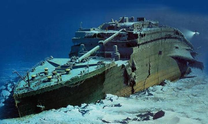 Titanic wreckage was actually discovered during secret Cold War Navy mission
