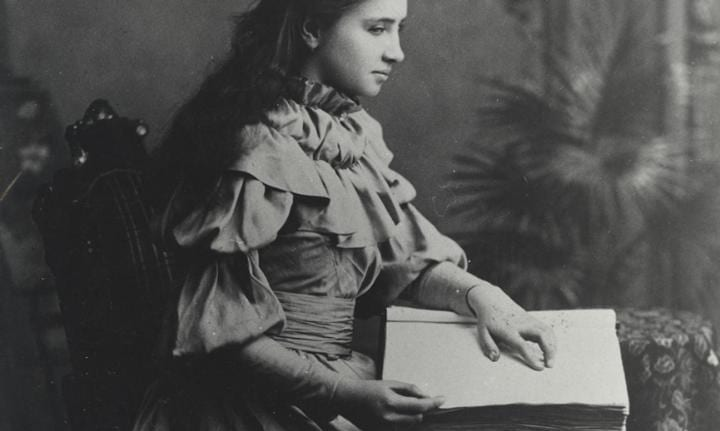 The story of Helen Keller's amazing triumph over adversity