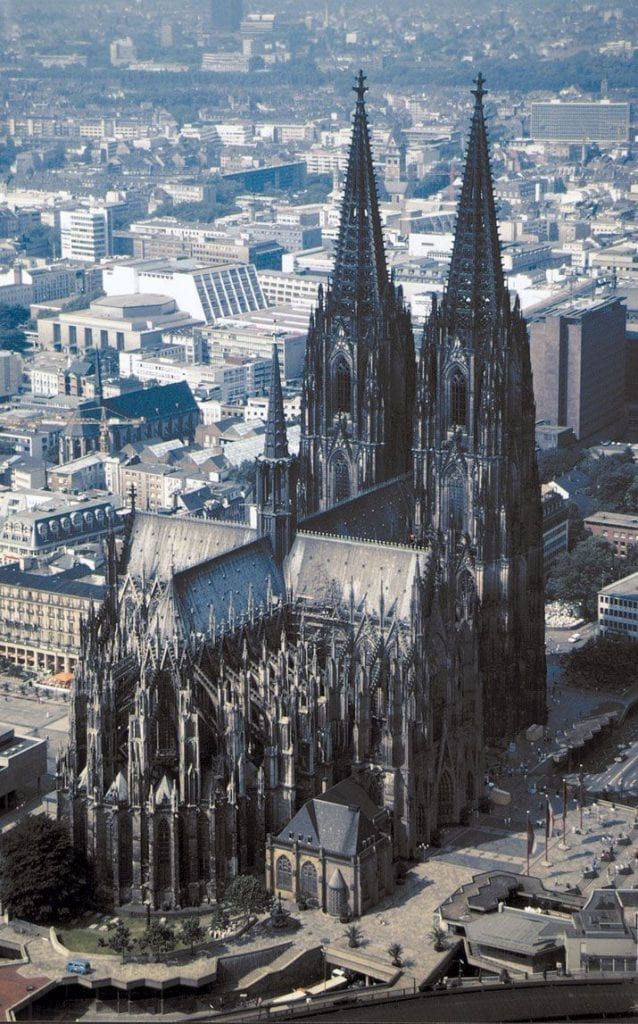 Cologne Cathedral, Germany, World War II, Clarence Smoyer