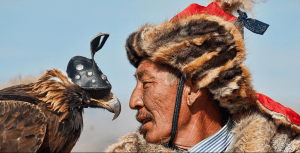 Burkitshi, eagle hunter, Golden Eagle Festival