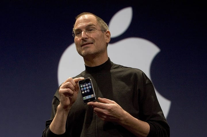 January 9, 2007: Steve Jobs unveils the first ever iPhone