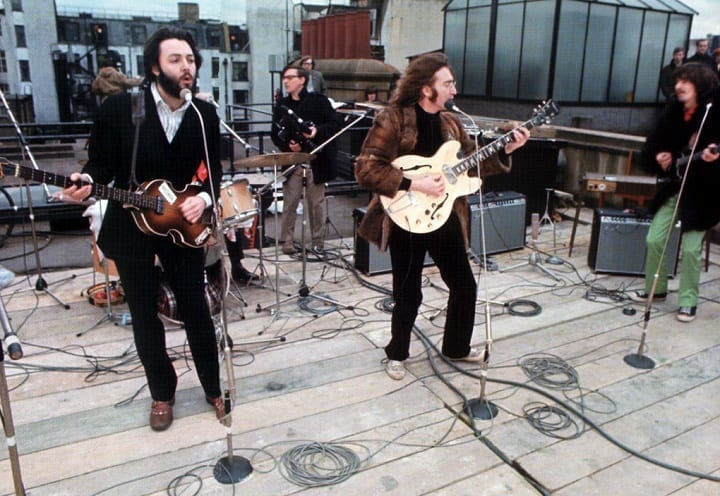 January 30, 1969: The Beatles made the best out of a rooftop performance