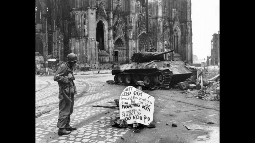 Cologne, Germany, WWII, soldiers, Allied, Nazis
