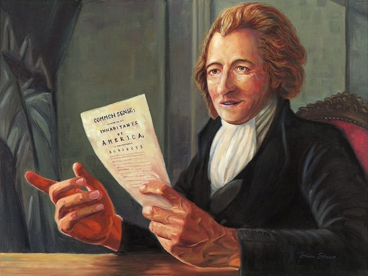 January 10, 1776: Thomas Paine publishes 'Common Sense'