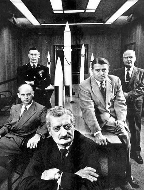 operation paperclip scientists