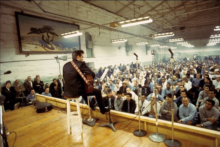 January 13, 1968: Johnny Cash delivers famous performance inside Folsom State Prison