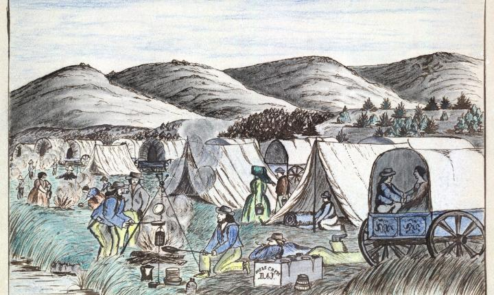 February 19, 1847: Rescuers reach the Donner Party