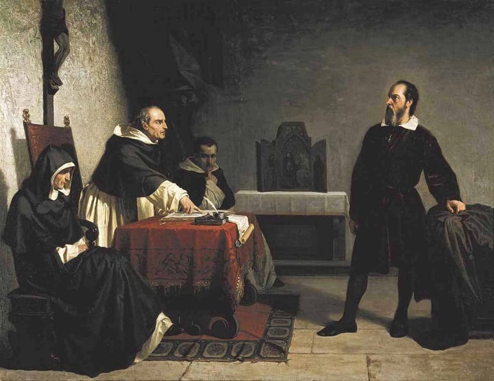 February 26, 1616: Galileo is banned from the Catholic Church