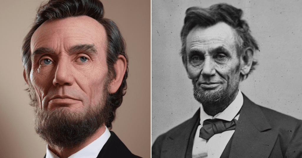 These recently released photos show Abe Lincoln like you've never seen him before