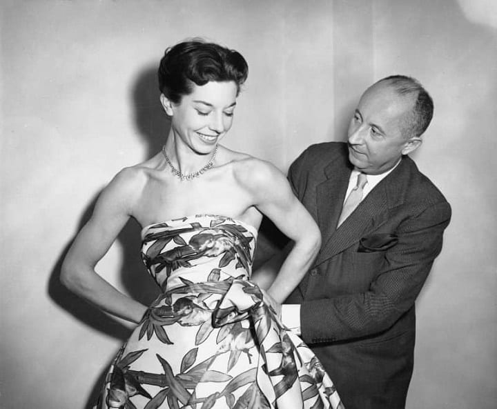 """February 12, 1947: Christian Dior reveals the """"New Look"""""""