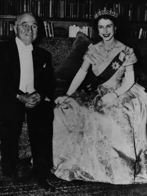 princess elizabeth president harry truman