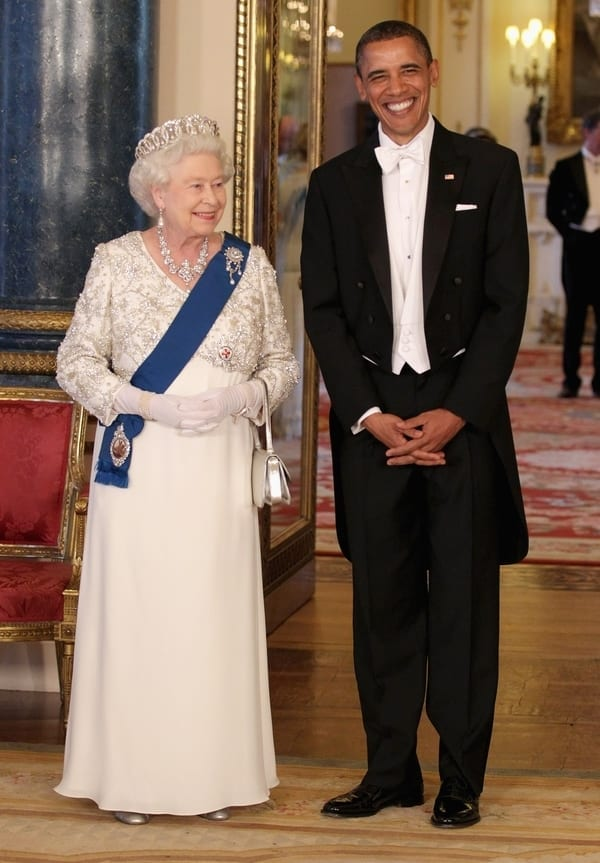 queen elizabeth ii barack obama
