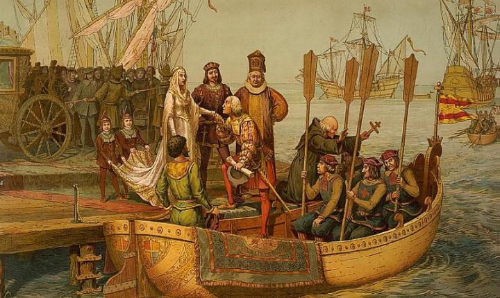 March 15, 1493: Christopher Columbus returns to Spain after maiden trip to the Americas