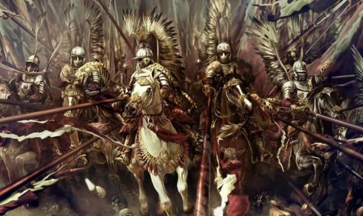 Winged Polish cavalrymen were a force to be reckoned with