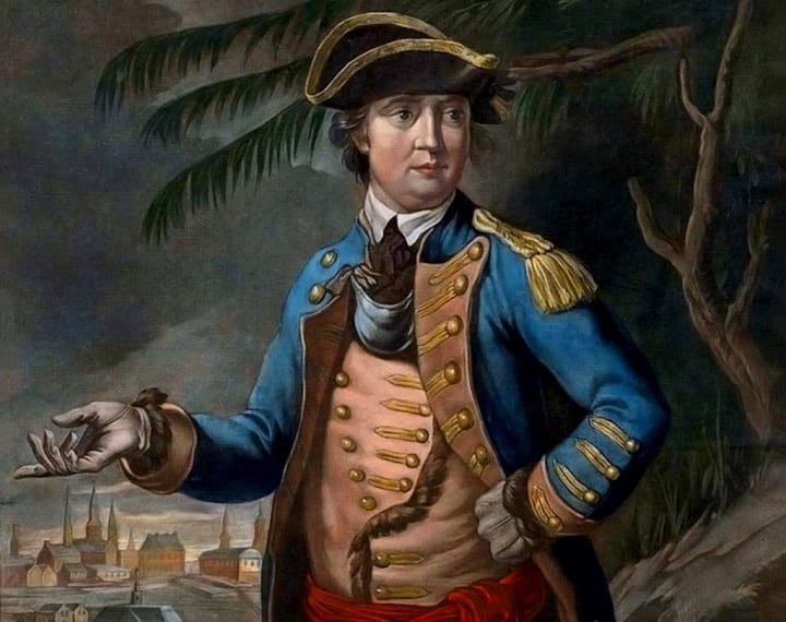 The notorious Benedict Arnold became a U.S. traitor for a pretty selfish reason