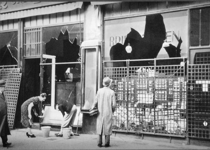 Kristallnacht horrified America, but they did nothing about it