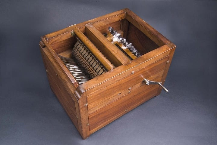March 14, 1794: Eli Whitney obtains cotton gin patent