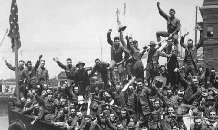 April 6, 1917: U.S. officially enters WWI by declaring war on Germany