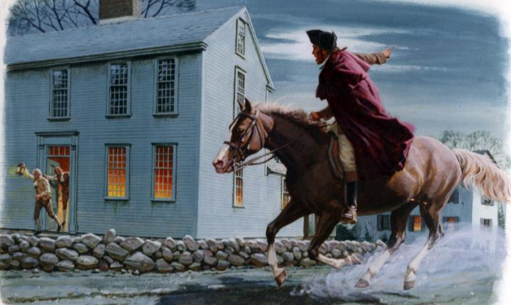 April 18, 1775: Paul Revere's famous midnight ride to Lexington