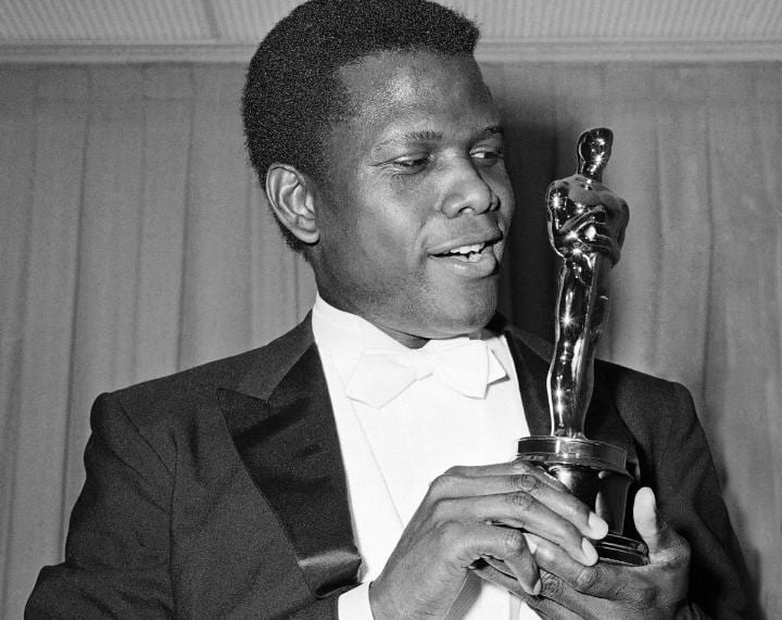 April 13, 1964: Sidney Poitier becomes the first black man to win Best Actor
