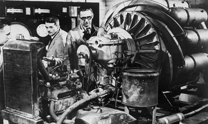 April 12, 1937: First ground tests of a jet engine