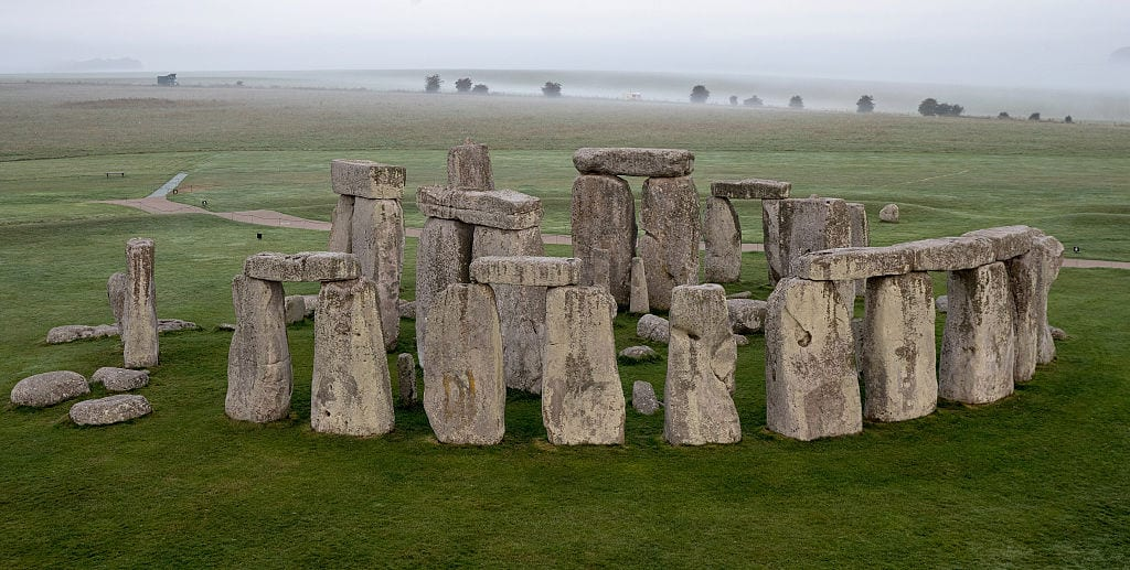 stonehenge, bluehenge, ancient structures, magic, folklore