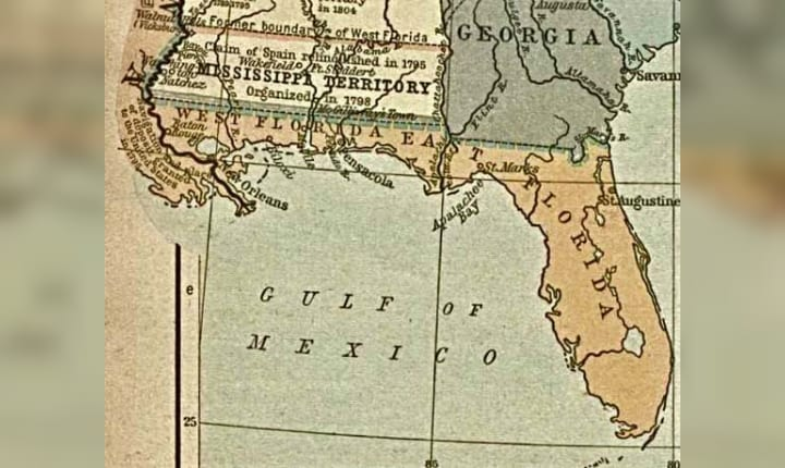 March 30, 1822: The Florida Territory is created